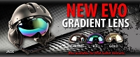 GRADIENT LENSES ARE NOW IN STOCK FOR THE EVO AND MSA GALLET HELMETS
